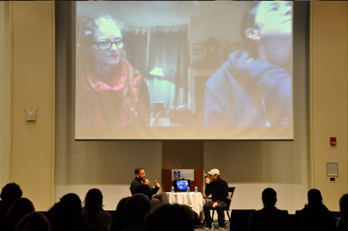 Girl Model filmmaker David Redmon takes part in the Q&A in person, while filmmaker Ashley Sabin joins in on Skype.